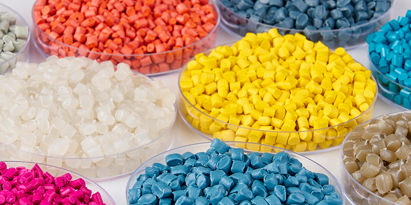 coloured pellets